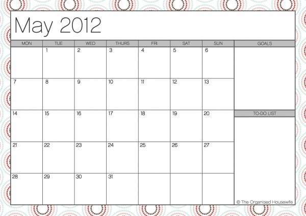 usable calendar template - 17 best images about printables on pinterest dream