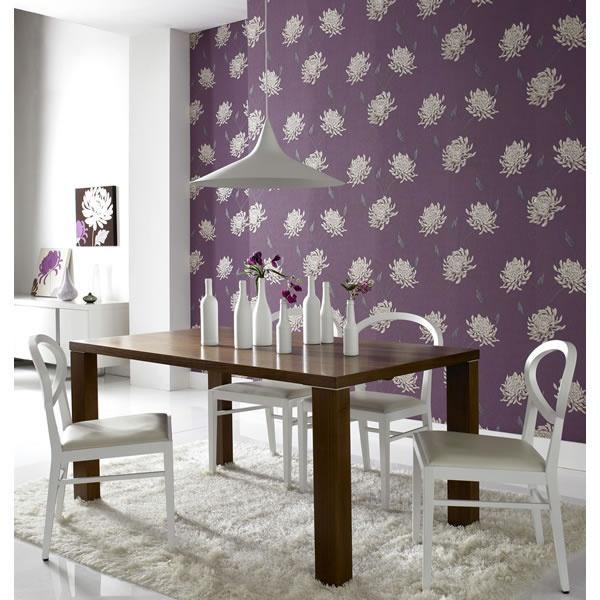 Design Decor Shopping Appstore For: Superfresco Texture Eve Purple/Cream Wallpaper 19874
