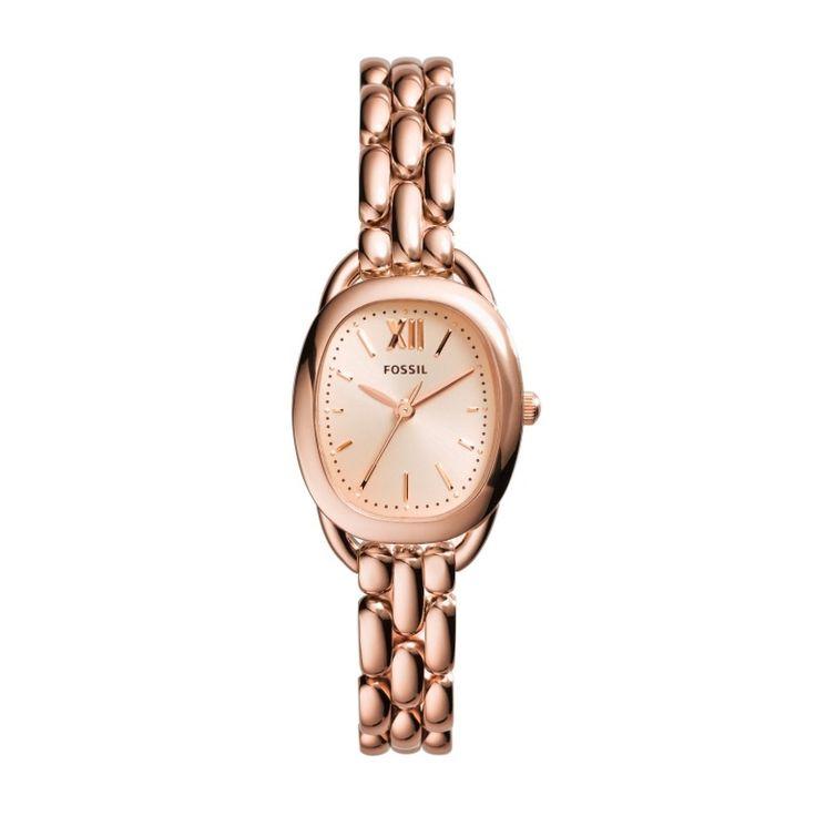 A Fossil e os relógios Lady Rose | Chronos do Tempo