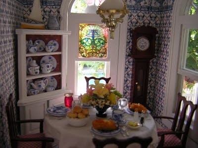 dollhouse living room 17 best images about dollhouse dining rooms on 10944