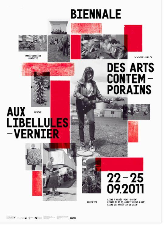 Vanja Golubovic (Berlin / Geneva)  Identity, poster, and wayfinding for BAL (biennale des arts contemporains aux libellules), a transdiciplinary art biennial in Vernier, Switzerland