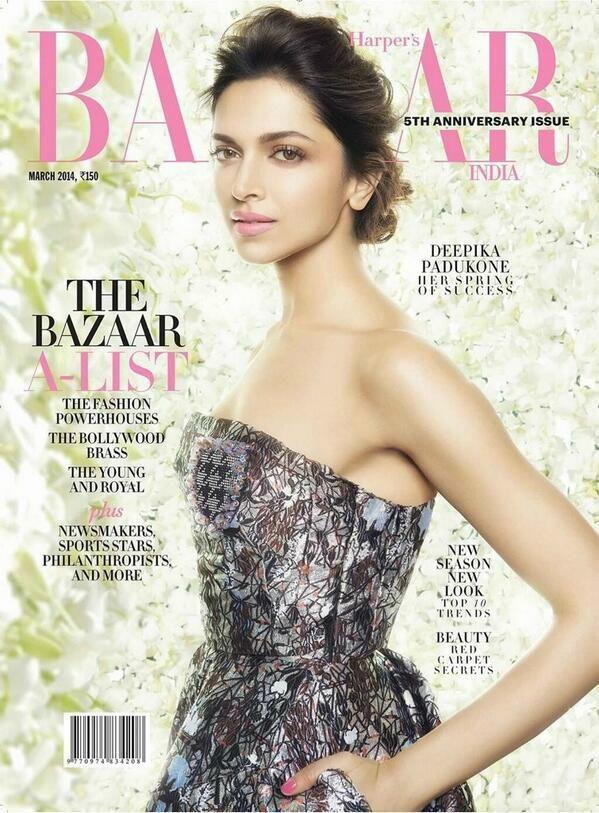 Deepika Padukone covers Harper's Bazaar