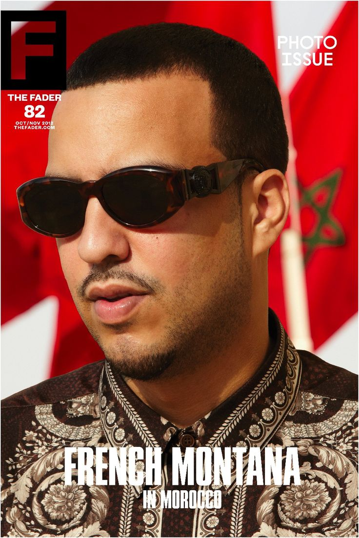 """French Montana / The FADER Issue 82 Cover 20"""" x 30"""" Poster"""