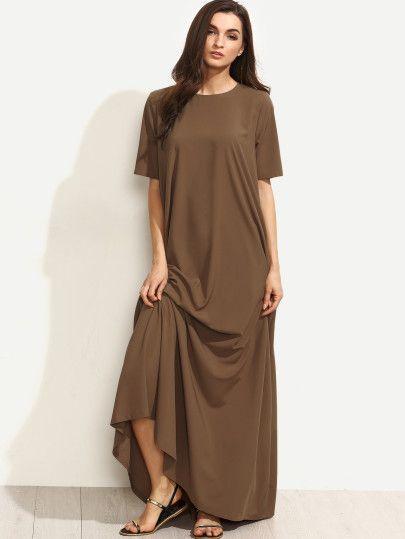 Cute short sleeve maxi dresses