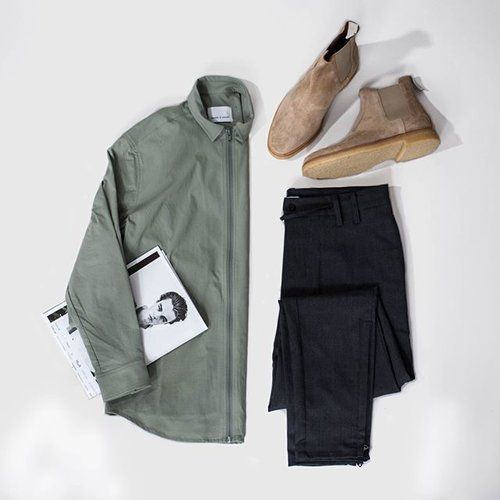 What to wear today.  Shirt from @samsoesamsoe   Pants from @mamboslo   Boots from @commonprojects   Items to get at @hoyeregerman   #wtwt #ootd #boysinspiration
