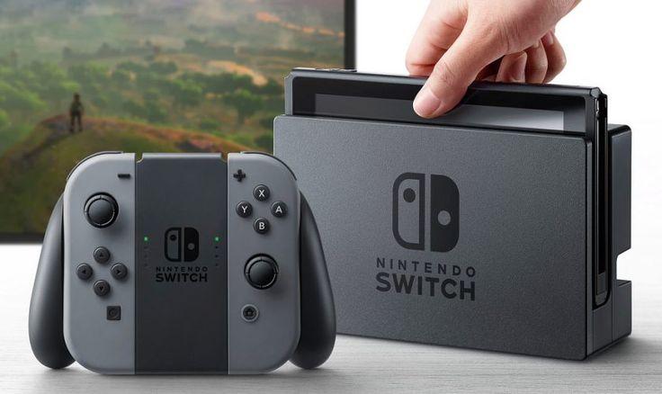 Nintendo a lansat consola Switch  Detalii: http://bit.ly/2kdUs3F