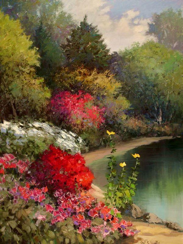 94 best images about kent wallis on pinterest gardens for Garden pond kent