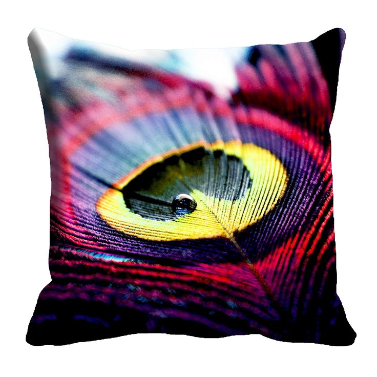Feather Cushion Cover (16x16) #cushions #cushioncovers #pinit #pinterset #shazliving #interior #homedecor Shop at: https://www.shazliving.com/