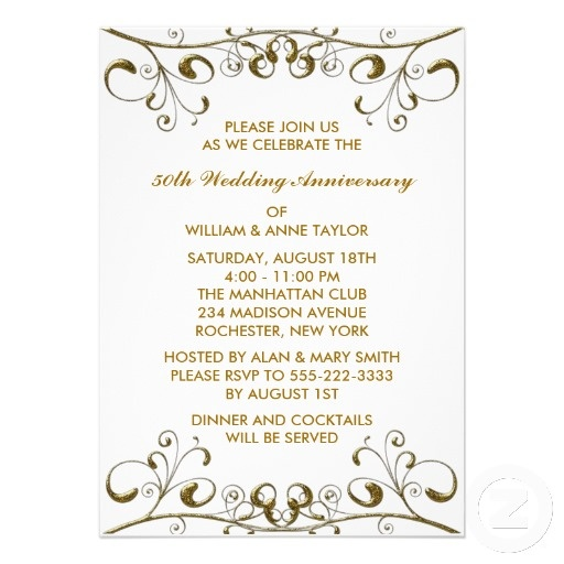 50th Wedding Anniversary Invitation Ideas: 16 Best Images About 50 Ideas On Pinterest