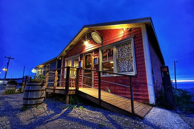 Bistro du bout du monde, aux Iles-de-la-Madeleine, by docjfnoel, via Flickr
