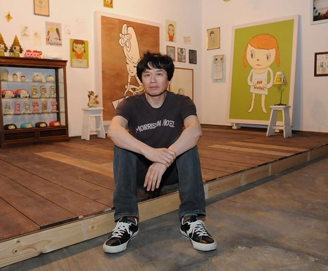 Yoshitomo Nara was named as one of three 'Asia Arts Game Changers' at the Asia…