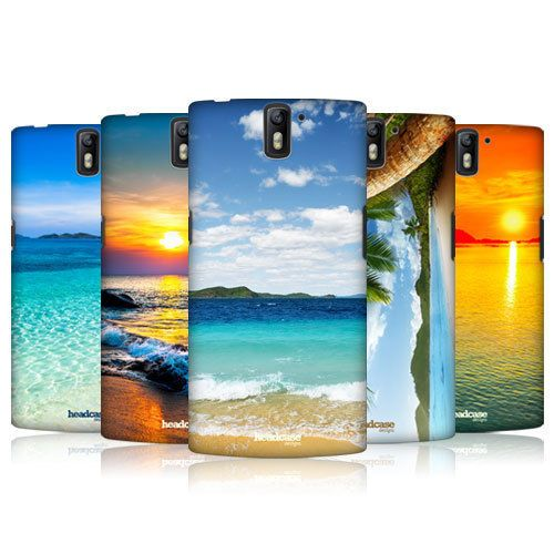 HEAD CASE DESIGNS BEAUTIFUL BEACHES HARD BACK CASE FOR ONEPLUS ONE #HeadCaseDesigns