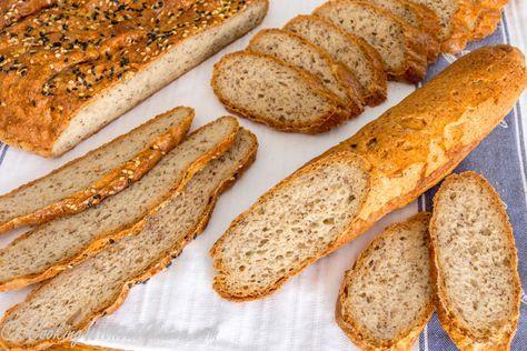 Цельнозерновой хлеб с льяняным семенем без глютена