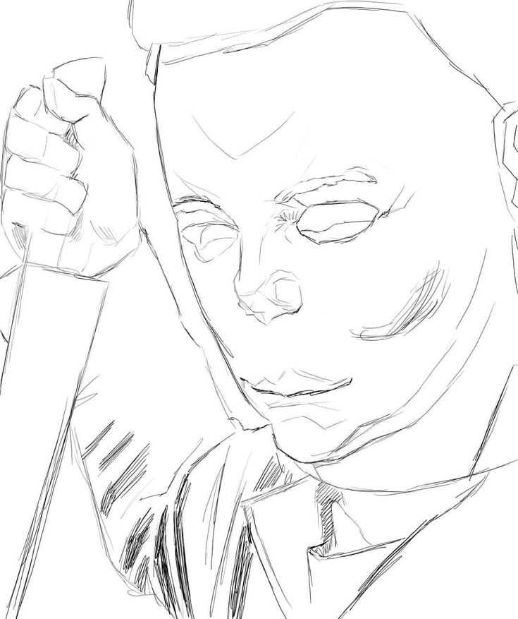 Michael Myers Halloween 2 Warlock Masks