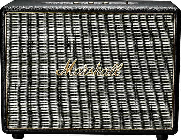 "Marshall - Woburn Dual 5.25"" 200W Bluetooth Active Stereo Speaker (Each) - Black"