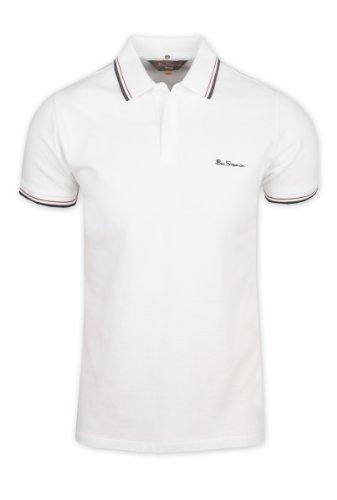 Ben Sherman Romford polo shirt - White