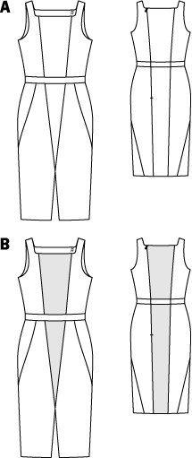 Sheath Dress 08/2015 #122A – Sewing Patterns | BurdaStyle.com