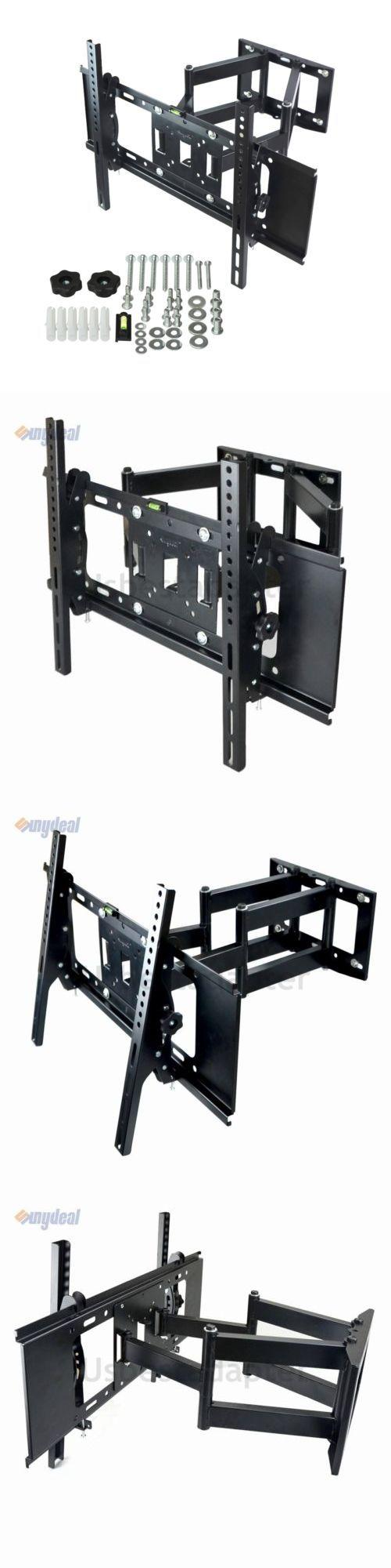 TV Mounts and Brackets: Dual Arm Full Motion Tilt Lcd Led Tv Wall Mount Bracket 36 42 46 50 55 60 65 70 -> BUY IT NOW ONLY: $30.22 on eBay!