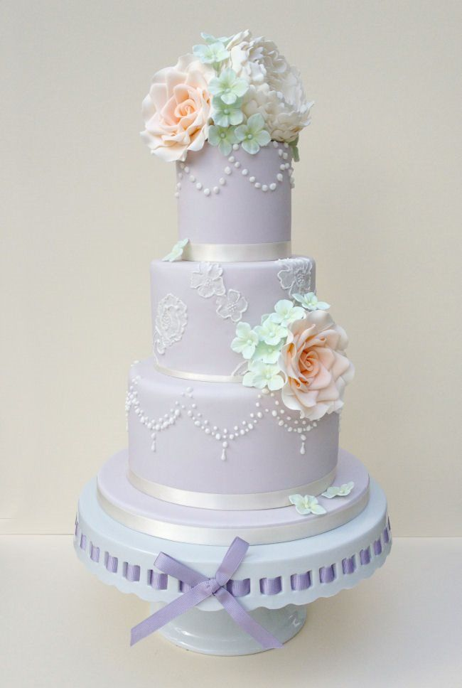 Posh Wedding Cakes; Summerton by Poshpud