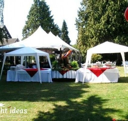 Nothing better than holding an event outside during summer #outdoorcoporatevents #clientappreciationevents #vancouvereventplanning #brightideasevents