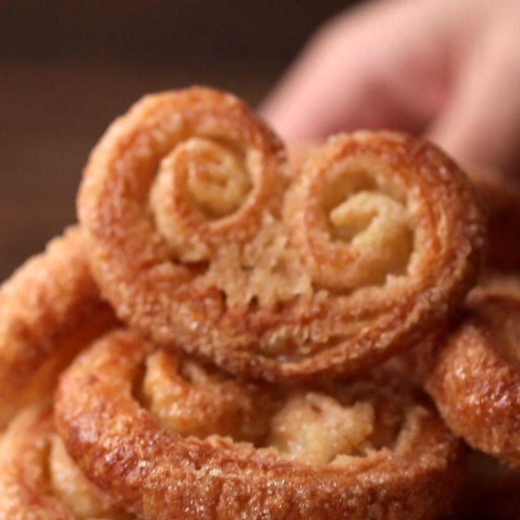 Palmier Cookies Easy Dessert Recipe by Tasty