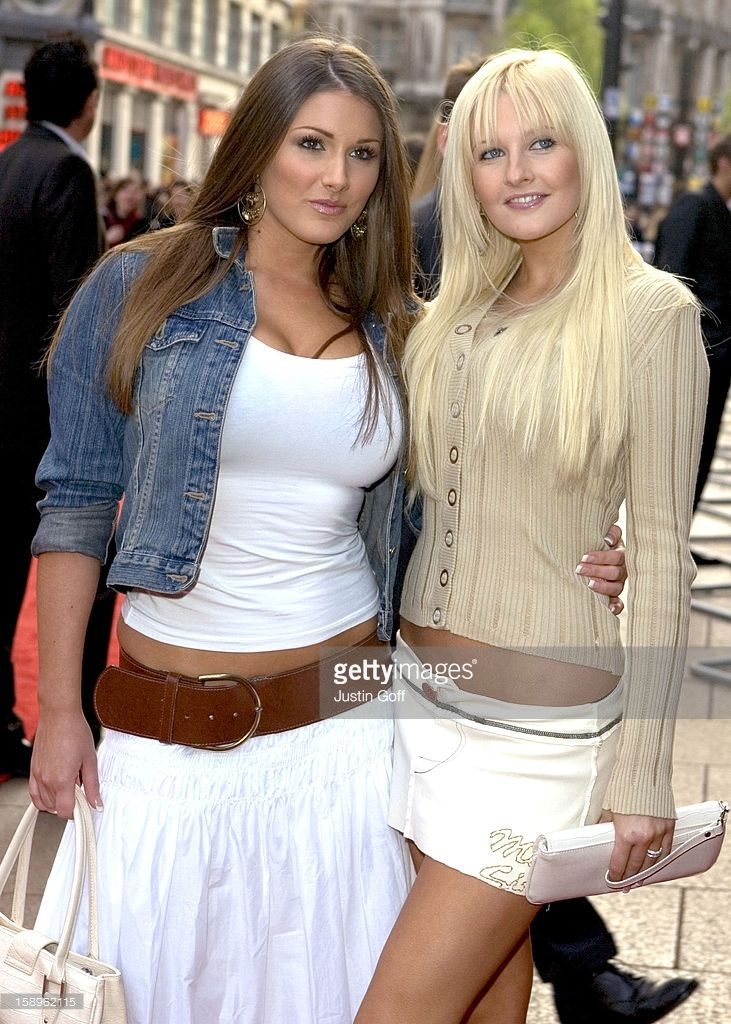 Lucy Pinder & Michelle Marsh Attend 'The Interpreter' Uk Film Premiere In London'S Leicester Square.