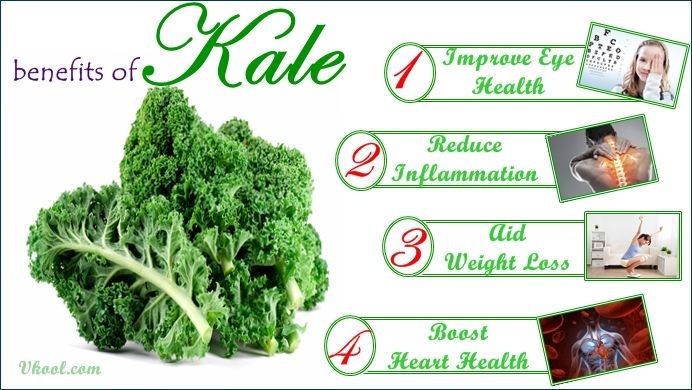 Kale contains very little fat. Most of which is the omega-3 fatty acid which is called alpha-linolenic acid (ALA). It also has antioxidant, anti-inflammatory, cardioprotective, antiviral, antidepressant, and anticancer properties.