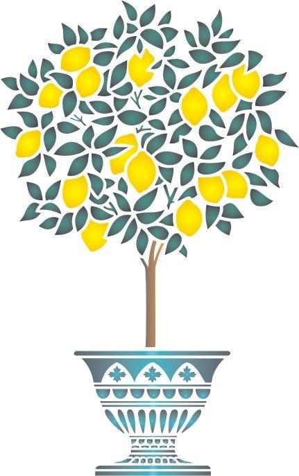 картинка лимонное дерево распечатать регулярного планування забудови
