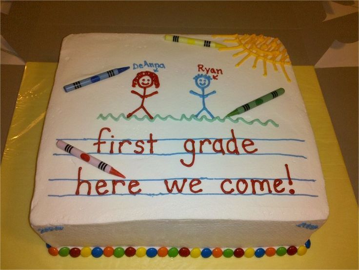 School Cakes on A Day In First Grade Teaching With Themes Best