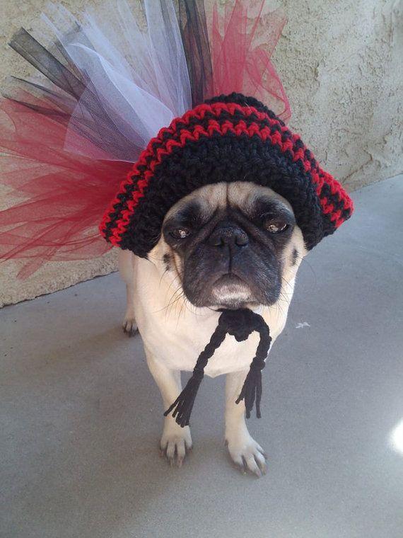 Dog Halloween CostumePirate CostumeDogPugsDog Tutu by PugsNGiggles, $25.00