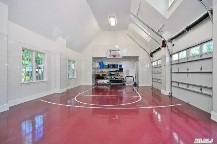Best 25 indoor basketball ideas on pinterest basketball for Basketball garage