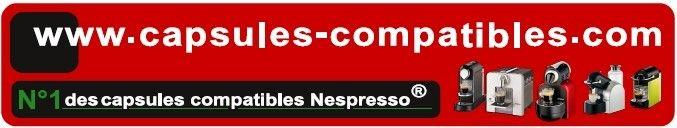 capsules-compatibles.com toutes les capsules compatibles pour Nespresso ®