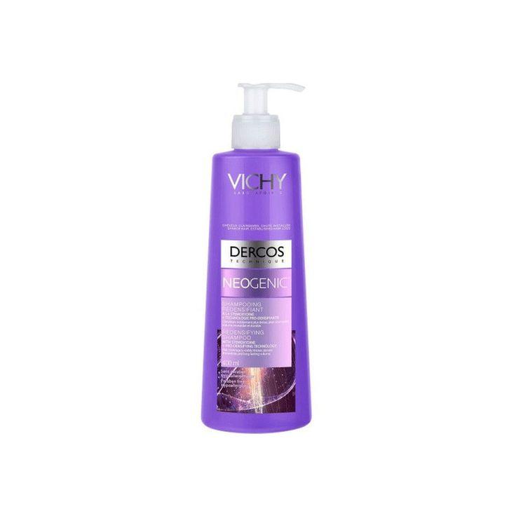 Το Neogenic Shampoo  της Vichy, είναι ένα σαμπουάν για αύξηση της πυκνότητας του τριχωτού. Χάρη στο πατενταρισμένο μόριο Stemoxydine και την τεχνολογία Pro-Densifying, αυξάνει ορατά την κάλυψη και την πυκνότητα του τριχωτού.  #trixoptosi #neogenic #vichy