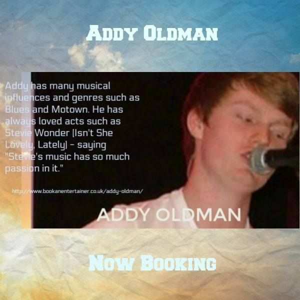 Addy Oldman Singer Songwriter Cheshire Playing Guitar Greatest