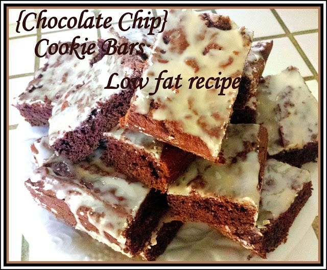 Low Fat Cookie Bars 103