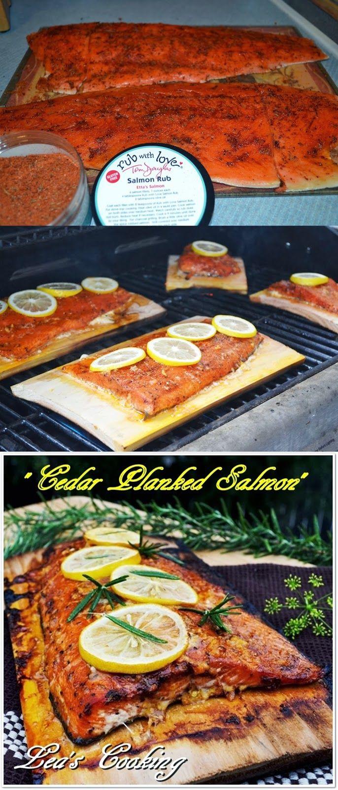 Lea's Cooking: Cedar-Planked Salmon Recipe