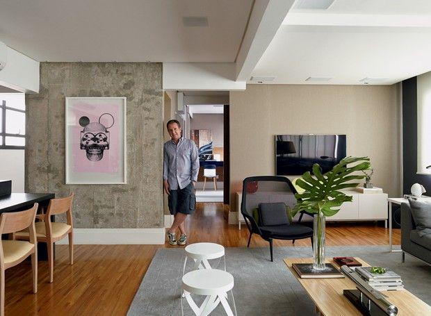 Com ambientes integrados, apartamento tem decoração com ...