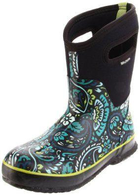 Bogs Women`s Classic Mid Tuscany Rain Boot