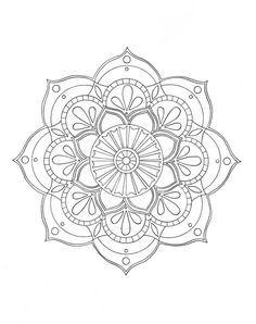 1281 best Mandalas images on Pinterest | Mandala coloring, Mandalas ...