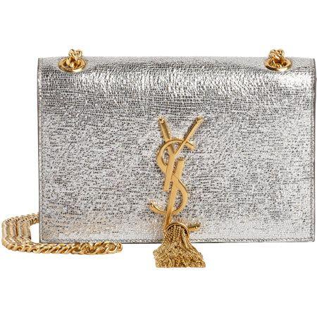 Saint Laurent Cassandre Small Tassel Shoulder Bag at Barneys.com ...