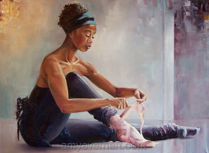 Black Ballerina - I would love this for my daughter Amellia. She keeps twirling around the house pretending to be a ballerina