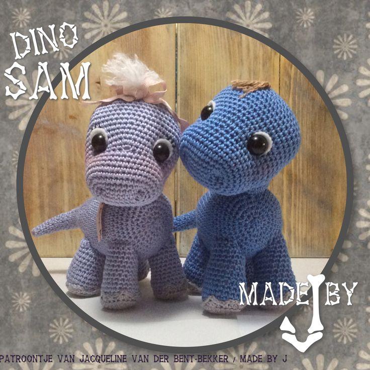 Kleine dino Sam is een kooppatroon