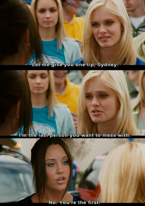 """Sydney White""  with Amanda Bynes and Sara Paxton"