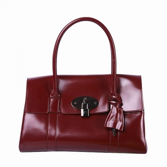 Wonderful Mulberry Women Bayswater Patent Leather Shoulder Bag Red £131.12 http://www.mulberrybagsoutletok.co.uk
