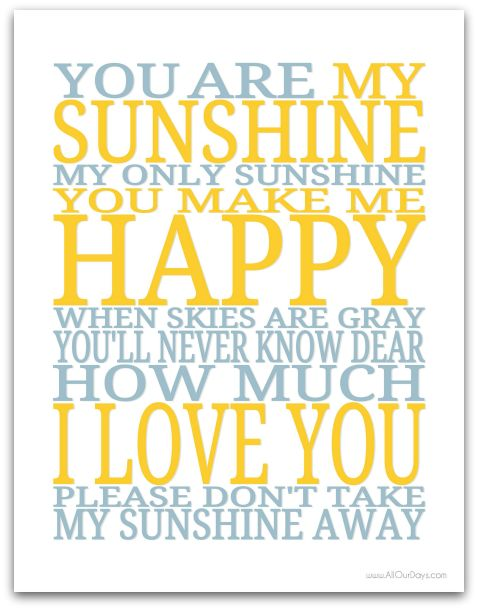 Good Morning Sunshine My Only Sunshine : Best images about you are my sunshine graphics svg s