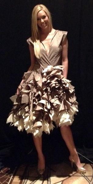 Latte Dress by Kayla Kennington