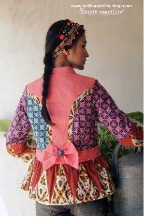 batik amarillis's primavera jacket