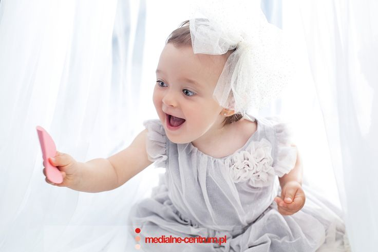pierwsza sesja fotograficzna, happy child