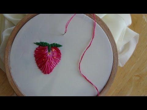 Hand Embroidery: Lazy Daisy Stitch - YouTube