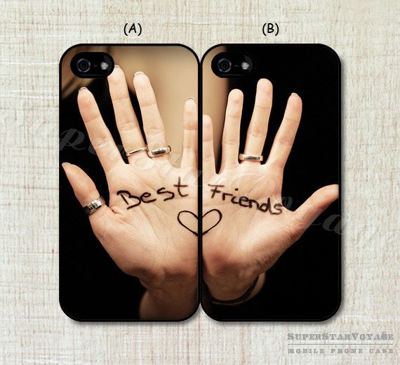 Two Girls Best Friend Cases Double Case for by SuperStarVoyage